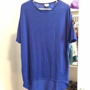 Royal blue xxs tunic